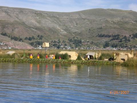 Floating Islands of Uros: Jachatata