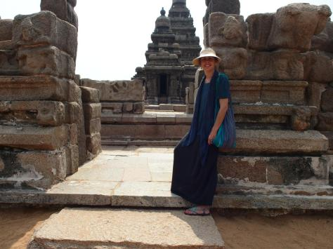 Checking out Shore Temple