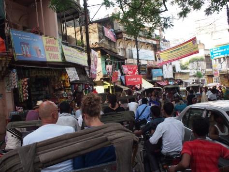 Traffic, oh so crazy!