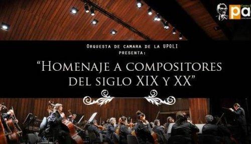 Concierto: Orquesta de Cámara de la UPOLI
