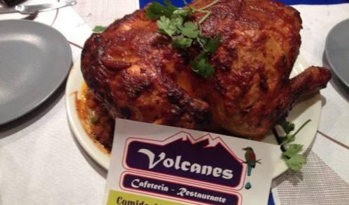 Restaurante Nicaraguenses Los Volcanes en Madrid España