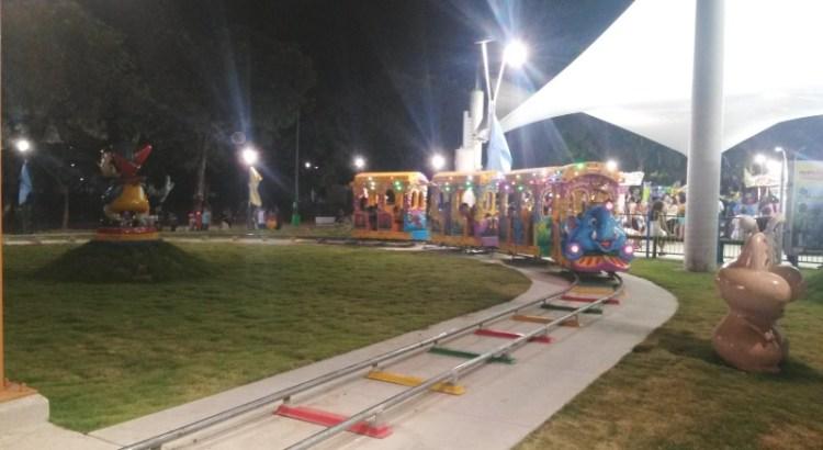 La nueva atracción en el parque Luis Alfonso Velasquez Flores