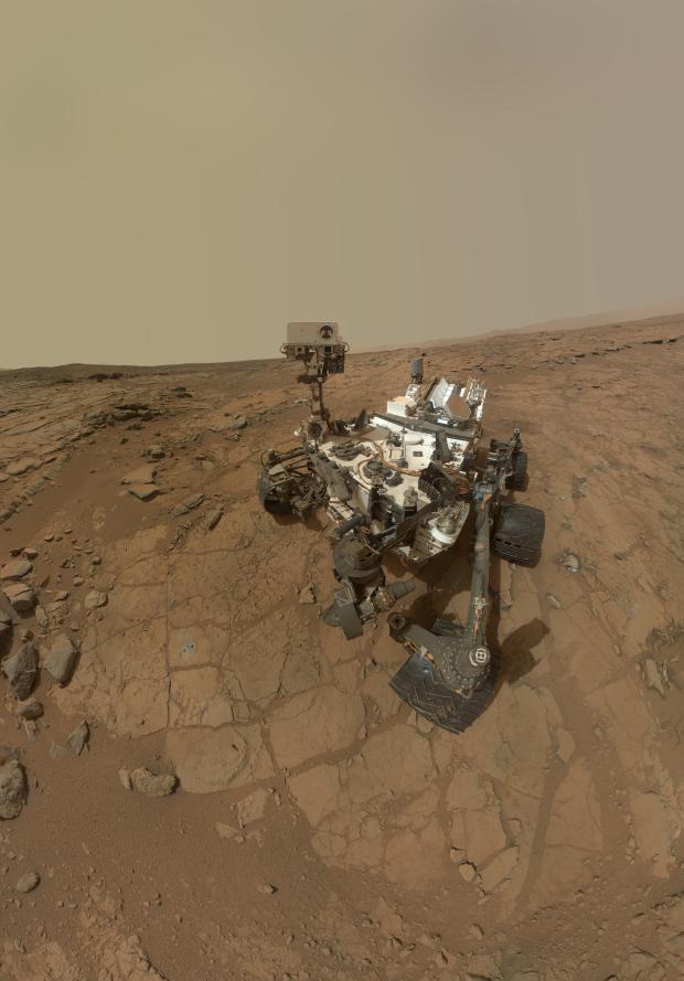 Mars Rover Selfie photo credit NASAJPL_CaltechMSSS