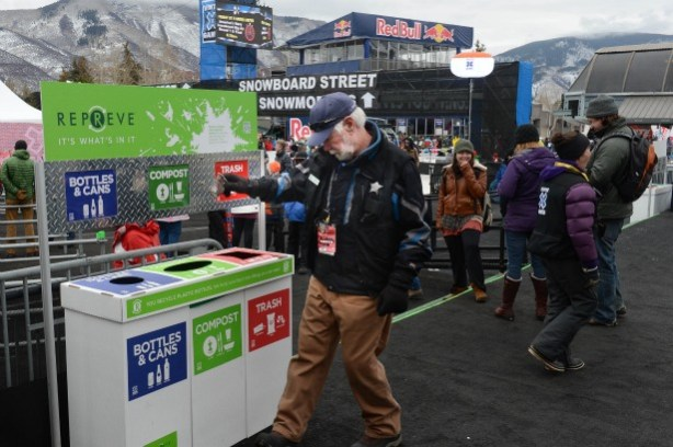 Environmentality during X Games Aspen 2013. (Photo by Rich Arden/ESPN Images)