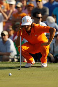 Golfer Rickie Fowler(Credit: Getty Images)