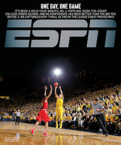 One Day, One Game ESPN The Magazine cover