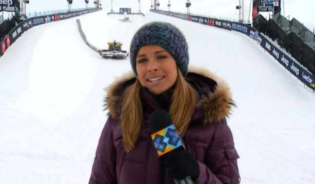 X Games host Ramona Bruland gives an update from Tignes.
