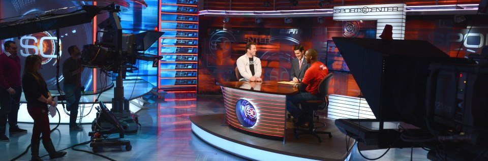 "Chael Sonnen and Jon ""Bones"" Jones - SportsCenter - January 22, 2013"