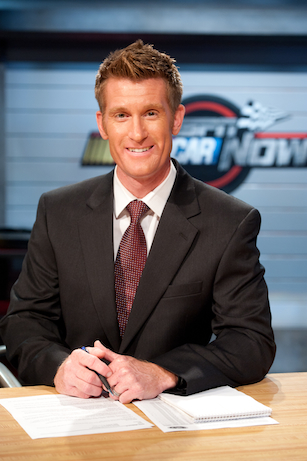 NASCAR reporter Marty Smith. (Joe Faraoni/ESPN)