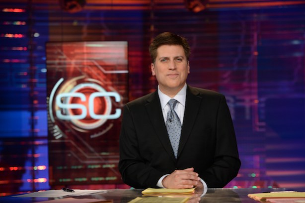SportsCenter anchor Steve Levy (Joe Faraoni / ESPN Images)