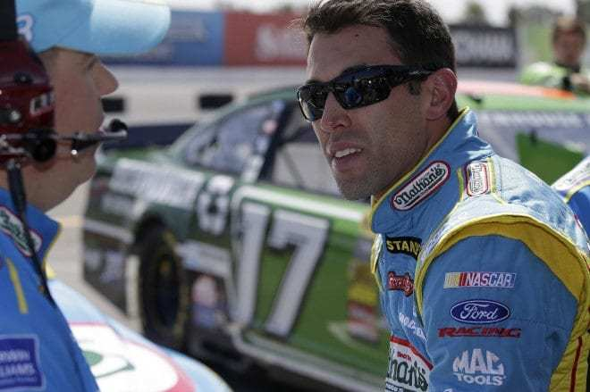 Racing to the Point: Aric Almirola Adds Another Asterisk