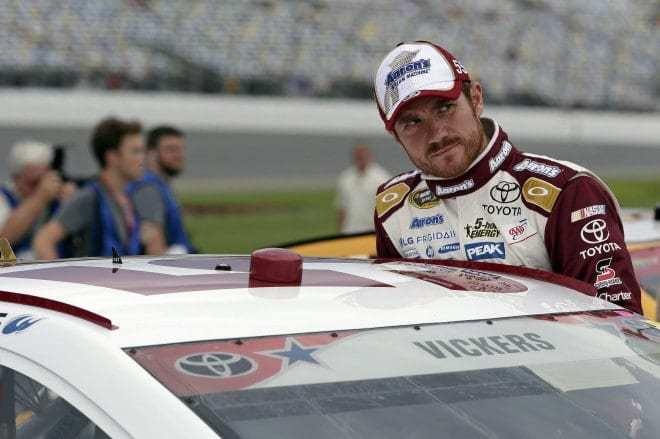 Holding a Pretty Wheel: Brian Vickers' Disappointment Gives Rise to Good Idea