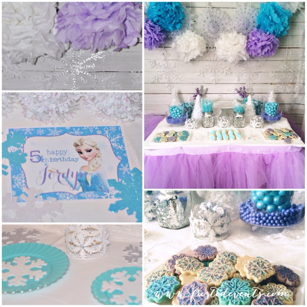 Party Themes- Frozen Party Printables Freebie