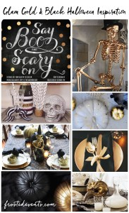 Halloween Party Themes – Gold and Glam Inspiration & Ideas