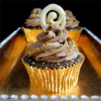 Chocolate Champagne Frosting