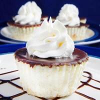 Coconut Vanilla Cheesecakes