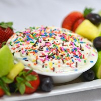 Confetti Yogurt Fruit Dip