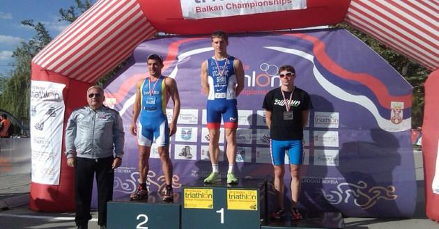 Campionatul Balcanic de Triatlon - Kladovo, Serbia 2013