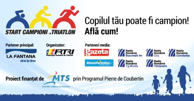 Start Campioni la Triatlon - Campanie-Nationala - 10 octombrie 2015