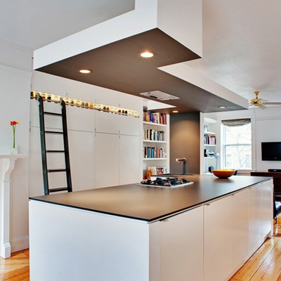 An expensive countertop can make a kitchen look predictable. We have ...