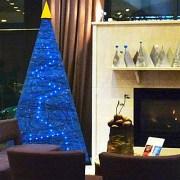 Listel Christmas Lobby