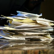 Pile Of Receipts -iStock
