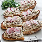 Tuna & Hummus Sandwiches - Barefoot Contessa How Easy Is That?