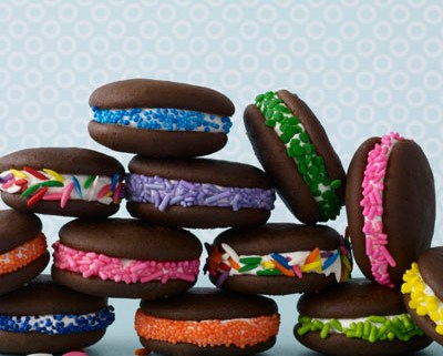 Classic Whoopie Pies With Sprinkles - Antonis Achilleos