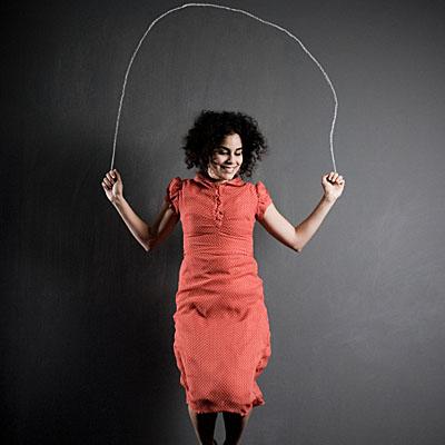 Woman Jumping Rope