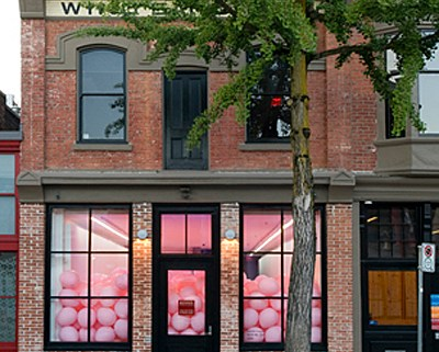 Exterior Wing Sang Gallery On East Pender Street, Vancouver