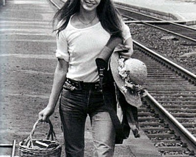 Jane Birkin straw basket