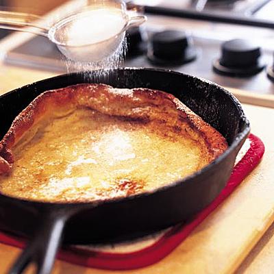 German Oven-Puffed Pancake, Cooking Light- Becky Luigart-Stayner; Lydia DeGaris-Pursell