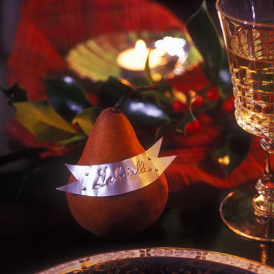 Pear Place Cards by Brendan Power - Martin Tessler