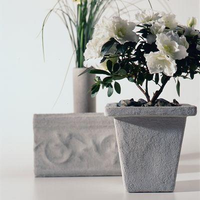 Concrete on Old Planters - Clinton Hussey