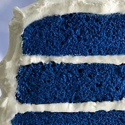 Blue Velvet Cake- Bettey Crocker