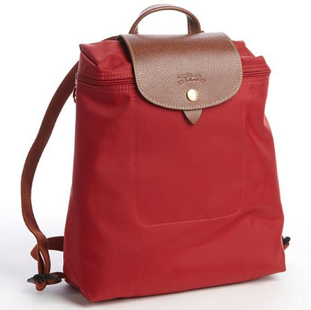 longchamp-red-nylon-le-pliage-backpack-original-51767