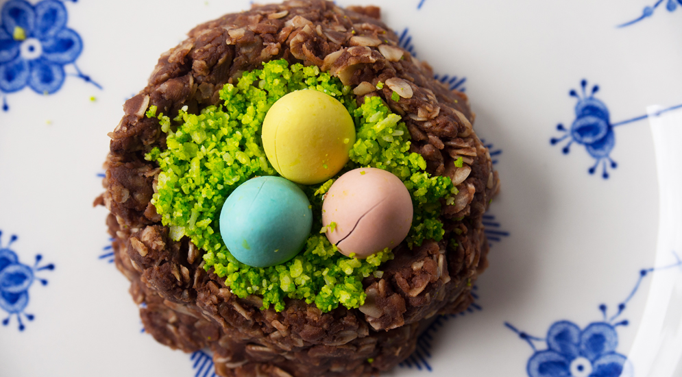 Bird's Nest Easter Cookies - C. Rule