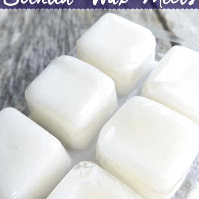 Frugal Experiment: Homemade Wax Melts