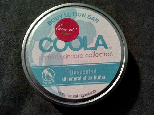 COOLA Unscented Body Lotion Bar