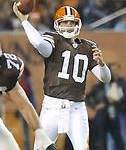 My interview with former Browns QB Kelly Holcomb