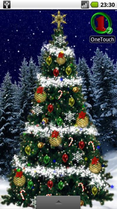 Christmas Tree Live Wallpaper - 'Tis the Season to Be Tacky | AndroidPIT
