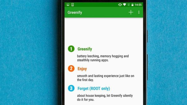 AndroidPIT greenify app how to root