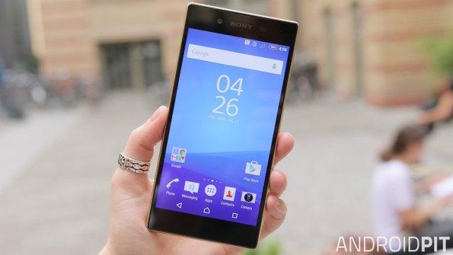Sony Xperia Z5 affichage avant 2