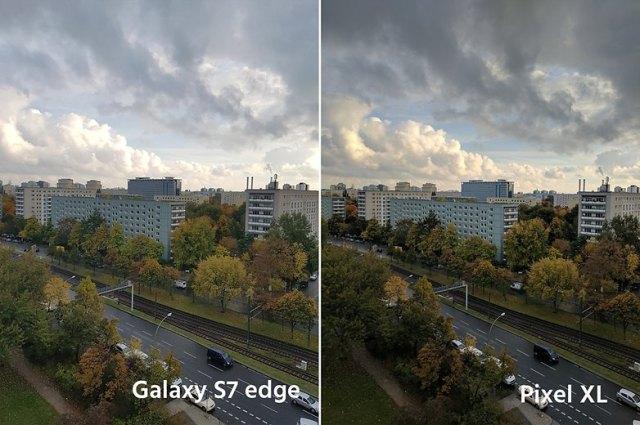 AndroidPIt google pixel XL vs samsung galaxy s7 edge 3