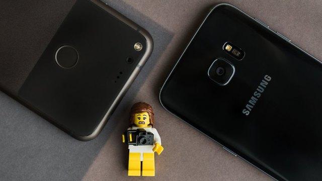 AndroidPIT Galaxy S7 Edge vs Pixel XL 0243