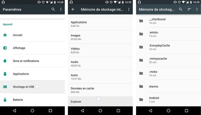 trucs astuces android 6 0 marshmallow explorateur gestionnaire fichiers android image 01