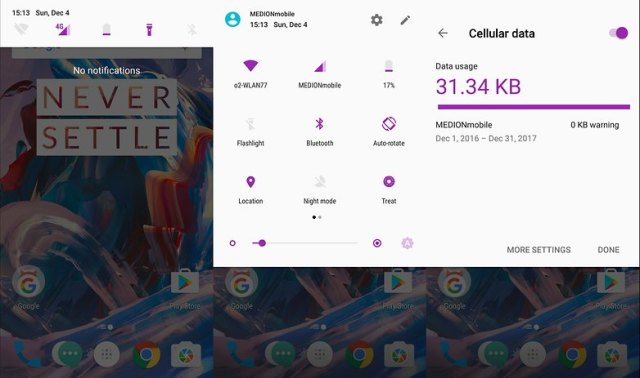 AndroidPIT OnePlus 3 Oxygen OS 4 Beta 8 Android 7 Nougat 02