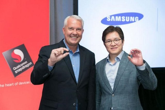 image keith kressin qualcomm ben suh samsung with 10nm snapdragon 835. feature