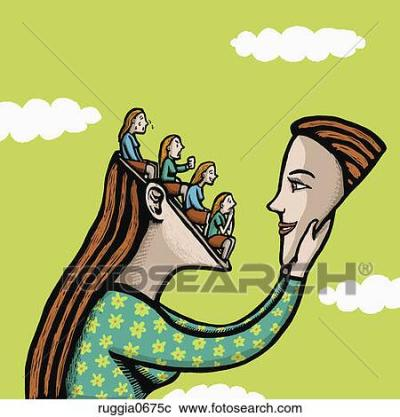 Stock Illustrations of Self Discovery ruggia0675c - Search Clipart, Illustration Posters ...
