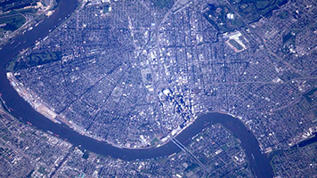 New Orleans From Outer Space